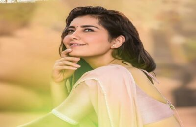 Actor Raashi Khanna Shares Throwback Pictures Of Herself: Fans Reacted