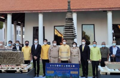 Thai Museum Welcomes Artefact Of Hindu Deities Indra And Yama From US