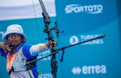 Deepika reclaims world no.1 spot after hat-trick of gold at WC Stage 3