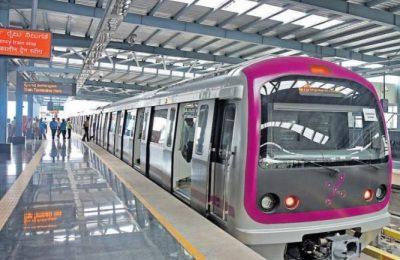 Bengaluru Metro open from 7 to 6