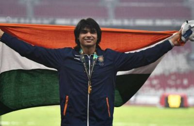 Javelin ace Neeraj Chopra to compete in Kuortane Games on Friday