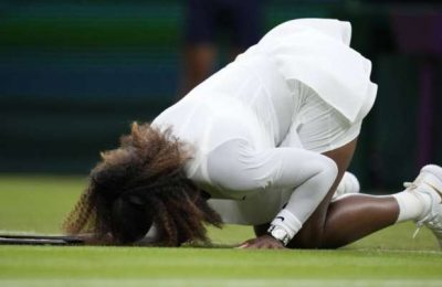 'Sad story': An injured Serena Williams is out of Wimbledon 2021