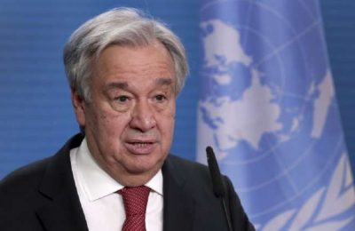 World hunger worsened by climate change, conflict, says UN Chief