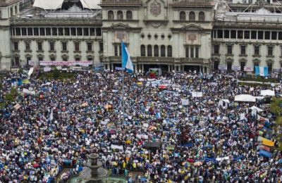Guatemala witnesses massive anti-government protests amid corruption scandal