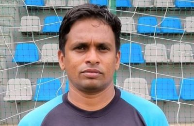 VP Sathiesh Kumar appointed as goalkeeping coach for FC Bengaluru United