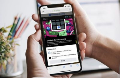 Facebook brings cloud gaming to Apple devices