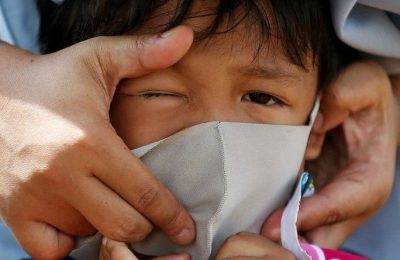 Children are dying as virus surges in Indonesia