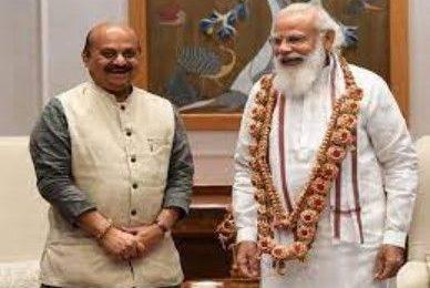 PM meets new Karnataka CM