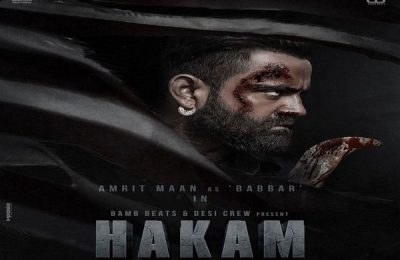 Amrit Maan Reveals The First Look Poster Of 'Hakam'