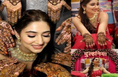 Dishul Starts Pre-Wedding Ceremony With Mehendi: See Pics