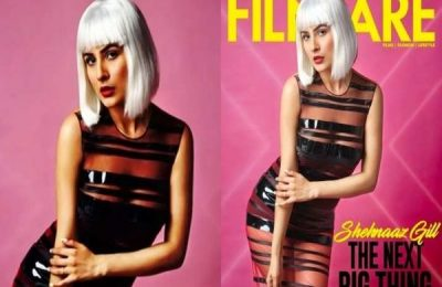 Shehnaaz Gill Features On The Digital Cover Of Filmfare