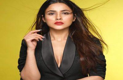 Shehnaaz Gill Gives Boss Lady Vibes In Black Blazer