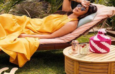 Priyanka Chopra Wears Sleeveless Maxi Worth ₹39k For An Ad