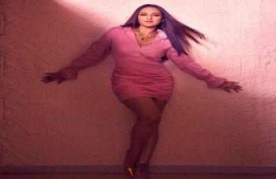 Sonakshi Sinha Wears Pastel Pink Mini Dress For Bhuj Promotions