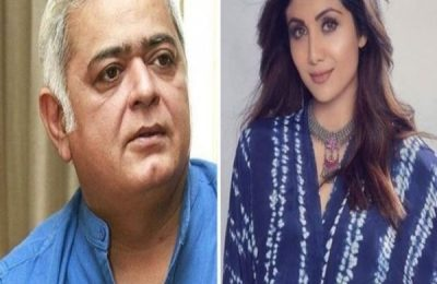 Hansal Mehta Comes Out In Support For Shilpa Shetty