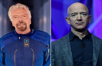 Branson vs Bezos: Two Billionaires Compete To Ride Their Own Rockets Into Space