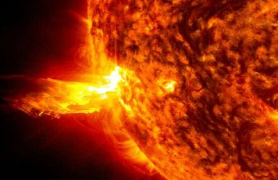 Solar Storm Approaching Towards Earth Likely To Hit Today