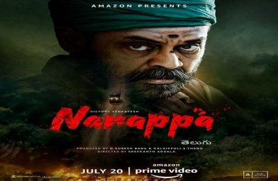 'Narappa' To Release On Amazon Prime Video