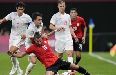 Spain held to 0-0 by Egypt