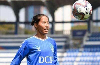 Bala Devi awarded Indian women's footballer of the year