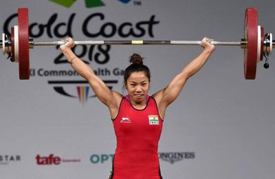 Mirabai Chanu Comes Home To Big Welcome with Silver Medal