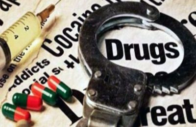 Seized drugs worth Rs 55 lakh