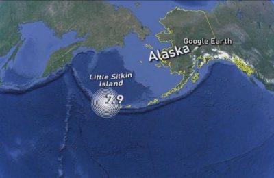 Tsunami warning issued following 8.1 magnitude earthquake off Alaska coast