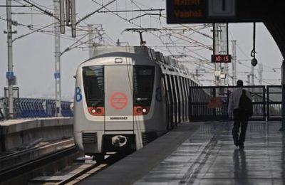 Earthquake: Delhi Metro Services