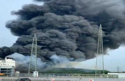 Several people injured in blast at a chemical plant in Germany's Leverkusen