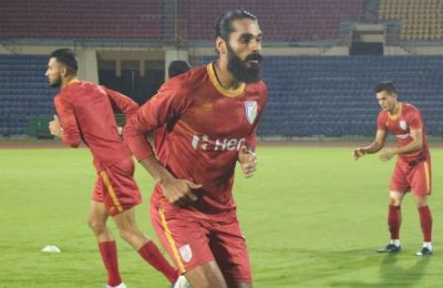 Our aim is to qualify for 2023 Asian Cup in China, says Sandesh Jhingan