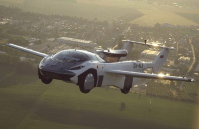 The Flying Car Completes Inter-City Test Flight