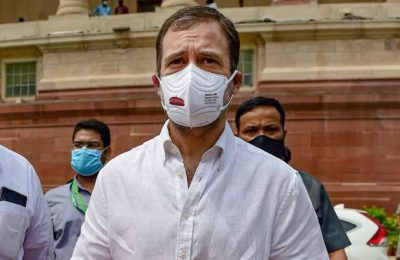 Rahul Gandhi gets first vaccine dose !