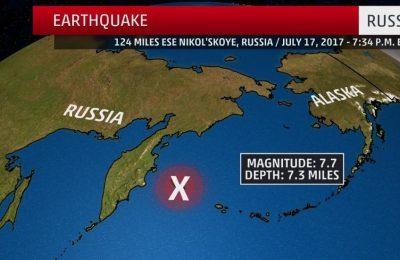 Magnitude 5.4 earthquake registered near Russia's Kamchatka Peninsula – Seismologists