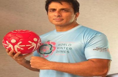 Sonu Sood Becomes Brand Ambassador Of India At The Special Olympics