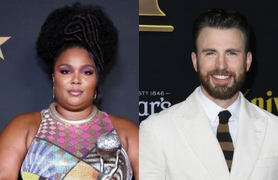 Chris Evans Reacts To Lizzo's Joke That She's Pregnant With His Baby