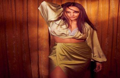 Sonakshi Sinha Goes All Green In ₹14k Blouse & Thigh-Slit Skirt
