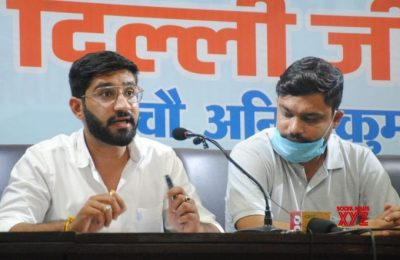 NSUI holds protest over Pegasus row, claims it an attack on democracy