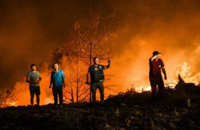 Turkey: Wildfires being fought for six days in coastal resorts