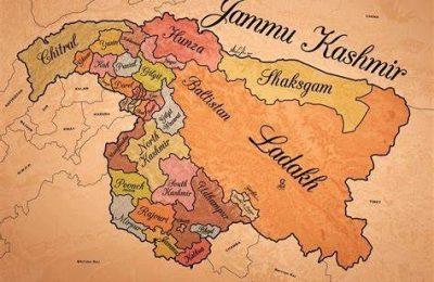 J&K: Kashmiri 'paper mache' artist makes old map