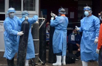 Hospitals fill up as new mutant of Delta COVID-19 variant spreads in Nepal